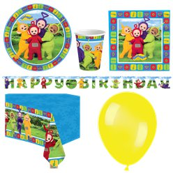 Teletubbies - Premium Party-Set - Für 8 Personen