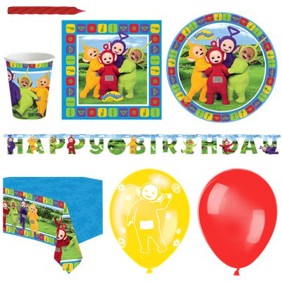 Teletubbies - Premium Party-Set - Für 16 Personen