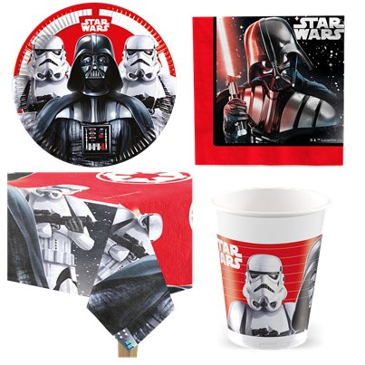 Star Wars - Party-Set - Für 8 Personen