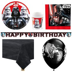 Star Wars - Premium Party-Set - Für 8 Personen