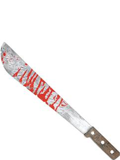 Blutige Slasher Machete 51cm