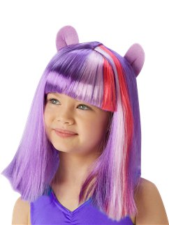 My Little Pony Twilight Sparkle Perücke