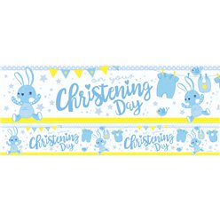 """Christening Day"" Taufe - Papierbanner 3 Stück  à 1m"