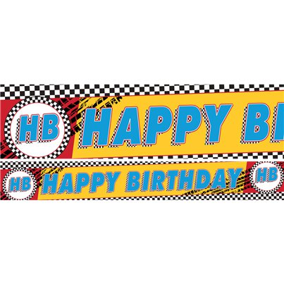 Disney Cars - Papierbanner 3 x 1m