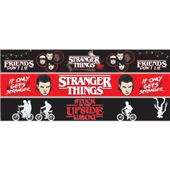 Stranger Things Papierbanner 1m