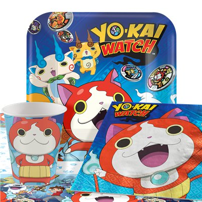 Yo-Kai Watch - Party-Set - Für 8 Personen