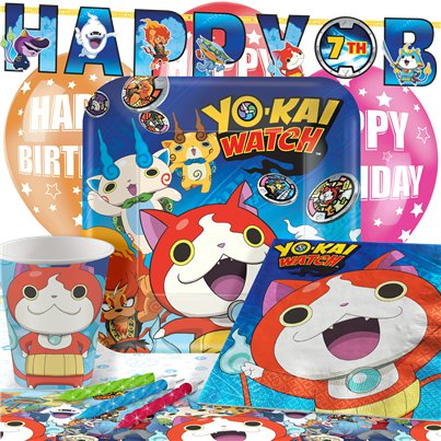 Yo-Kai Watch - Premium Party-Set - Für 8 Personen