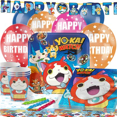 Yo-Kai Watch - Premium Party-Set - Für 16 Personen