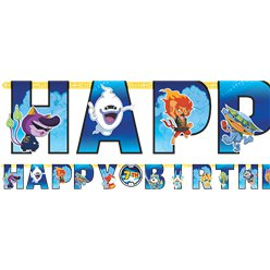 "Yo-Kai Watch - ""Happy Birthday""-Girlande"
