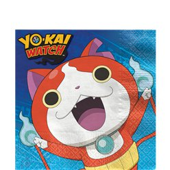 Yo-Kai Watch - Papierservietten 33cm