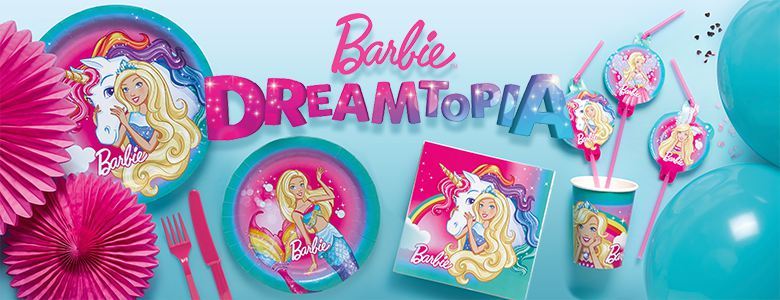Barbie Dreamtopia - Party Deko