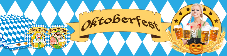 oktoberfest party deko. Black Bedroom Furniture Sets. Home Design Ideas