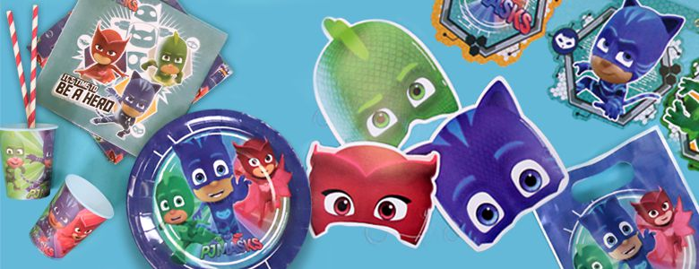 PJ Masks Pyjamahelden   Party Deko