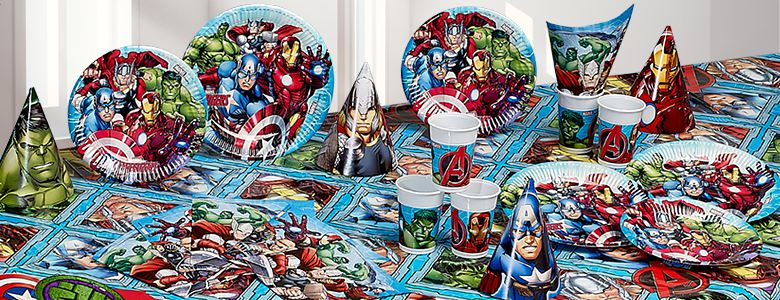 avengers party deko partycity de. Black Bedroom Furniture Sets. Home Design Ideas