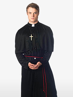 Heiliger Priester - Erwachsenen Kostüm Fancy Dress