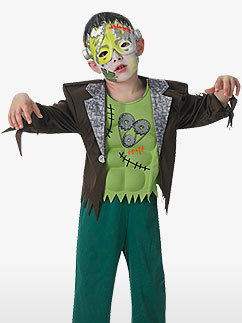 Frankenstein Junge - Kinderkostüm Fancy Dress