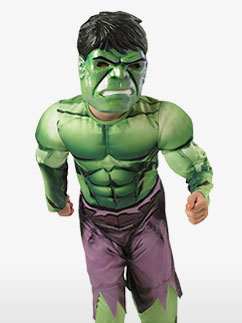 Hulk Deluxe Kinderkostüm Fancy Dress