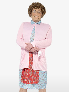 Mrs. Brown - Erwachsenenkostüm Fancy Dress