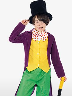 Roald Dahl Willy Wonka - Kinderkostüm Fancy Dress