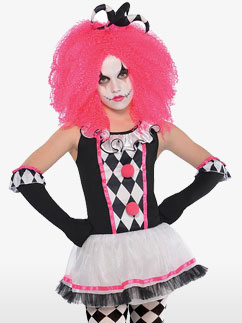 Zirkusnärrin Clown - Kinderkostüm Fancy Dress