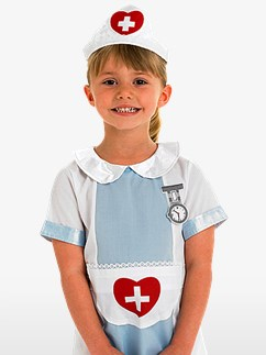 Krankenschwester, Kinderkostüm Fancy Dress