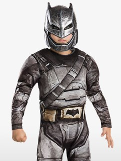 Premium Batman Rüstung - Kinderkostüm Fancy Dress