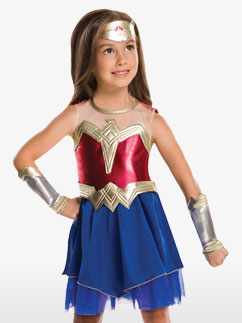 Kleine Wonder Woman - Kinderkostüm Fancy Dress