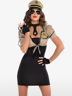 Sexy Sheriff - Erwachsenenkostüm Fancy Dress