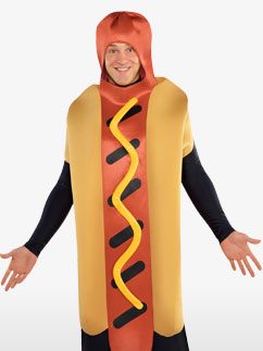 Hotdog - Erwachsenenkostüm Fancy Dress
