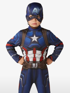 Klassischer Captain America - Kinderkostüm Fancy Dress