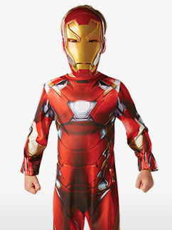 Klassischer Iron Man - Kinderkostüm Fancy Dress