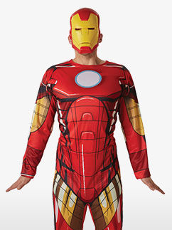 Iron Man - Erwachsenenkostüm Fancy Dress