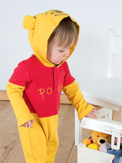 Winnie Puuh Jersey-Strampler - Babykostüm Fancy Dress