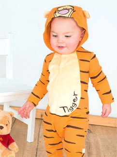 Tigger Jersey-Strampler - Babykostüm Fancy Dress