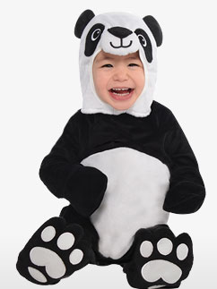 Pummeliger Panda - Babykostüm Fancy Dress