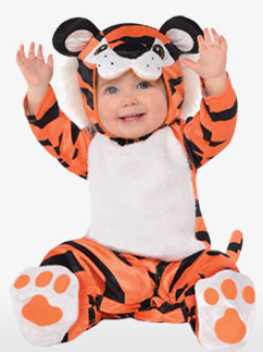 Tapsender Tiger - Babykostüm Fancy Dress