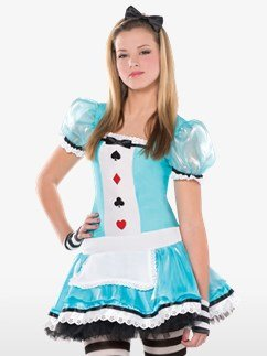 Clevere Alice - Kinder- & Teenagerkostüm Fancy Dress