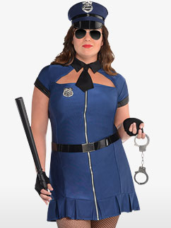 Bad Cop - Erwachsenenkostüm Fancy Dress