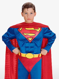 Superman Kinderkostüm Fancy Dress