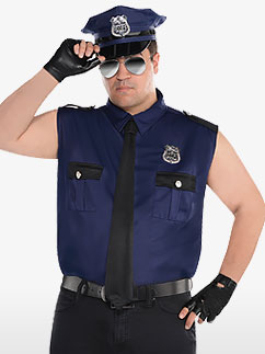 Sexy Polizist - Erwachsenenkostüm Fancy Dress