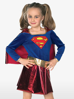 Supergirl - Kinderkostüme Fancy Dress