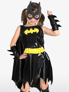 Batgirl - Kinderkostüme Fancy Dress