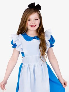 Klassische Alice - Kinderkostüm Fancy Dress