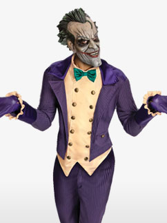 Arkham Joker - Erwachsenenkostüm Fancy Dress