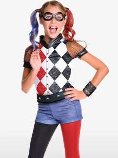Premium Harley Quinn - Kinderkostüm Fancy Dress