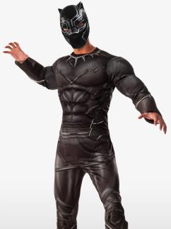 Premium Black Panther - Erwachsenenkostüm Fancy Dress