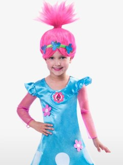 Trolls Poppy - Kostüm für Kinder & Kleinkinder Fancy Dress