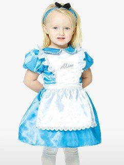 Alice im Wunderland - Baby- & Kleinkindkostüm Fancy Dress