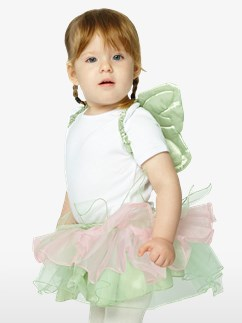 Tinkerbell Tutu & Haarreif Set - Baby- & Kleinkindkostüm Fancy Dress
