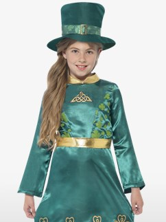 Irisches Koboldmädchen - Kinderkostüm Fancy Dress